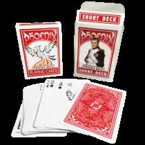 Phoenix Short Deck Red (Casino Quality) by Card-Shark - Trick