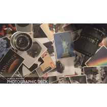 Photographic Deck Project (Gimmicks and Online Instructions) by George Tait