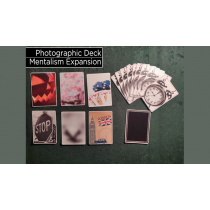 Photographic Deck Project Set (Gimmicks and Online Instructions) by George Tait