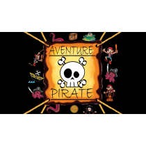 PIRATE ADVENTURE (Gimmicks and Online Instructions) by Mago Flash