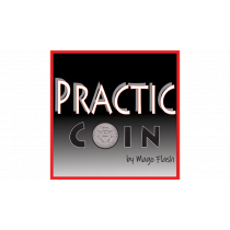 Practic Coin (Gimmicks and Online Instructions) by Mago Flash