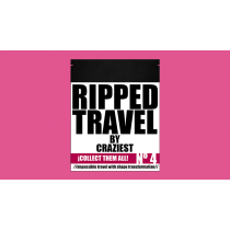 RIPPED TRAVEL (Red Gimmicks and Online Instruction) by Craziest