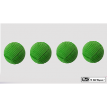 Rope Balls 1 inch / Set of 4 (Green) by Mr. Magic - Trick