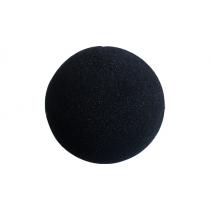 4 inch Regular Sponge Ball (Black) from Magic by Gosh (1 Each)