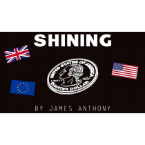 Shining UK Version (Gimmicks and Online Instructions) by James Anthony
