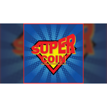 SUPER COIN (Gimmicks and Online Instructions) by Mago Flash