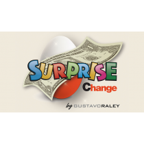 Surprise Change (Gimmicks and Online Instructions) by Gustavo Raley