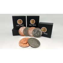 Copper Morgan Hopping Half (Gimmicks and Online Instructions) by Tango Magic