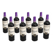 Multiplying Wine 8 Bottles (PURPLE) by Tora Magic