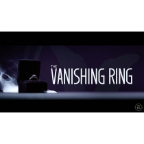 Vanishing Ring Box Black and Red Set (Gimmick and Online Instructions) by SansMinds