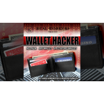 Wallet Hacker RED (Gimmicks and Online Instruction) by Joel Dickinson