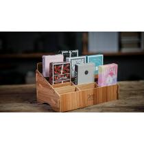Wooden (Small- 18 Decks) Playing Card Display by TCC - Kartenbox