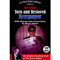 Slydini Newspaper Tear (With DVD) by Rocco Silano