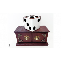 Tora Antique Dice Box by Tora Magic