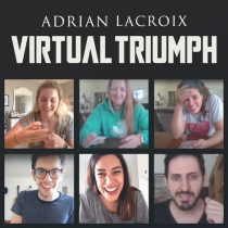 Virtual Triumph by Adrian Lacroix (Red Bicycle Back)
