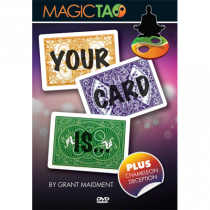 Your Card Is (DVD and Gimmick) by Grant Maidment and Magic Tao