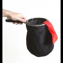Change Bag Velvet REPEAT WITH ZIPPER (Black) by Bazar de Magia   - Changierbeutel 3-fach