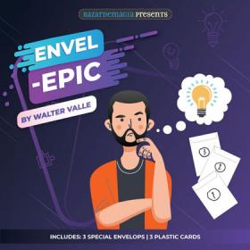 Envel Epic by Walter Valle by Bazar de Magia
