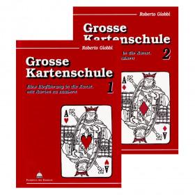 Buchset: Grosse Kartenschule Band 1 + 2 von Roberto Giobbi