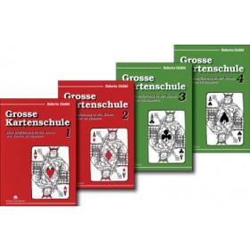 Buchset: Grosse Kartenschule 1,2,3 & 4 von Roberto Giobbi