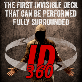 ID 360 - The 360 degrees Invisible Deck - Large Deck