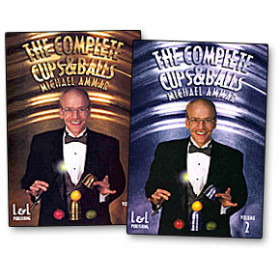 The Complete Cups and Balls with M. Ammar Vol 2 (DVD)