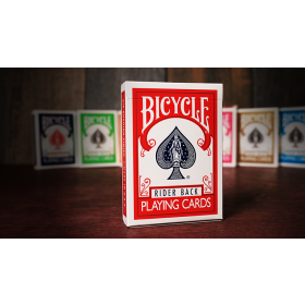 Bicycle Playing Cards Poker (Red) by US Playing Card Co - alte Kartenschachtel