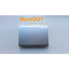 BURNOUT 2.0 CARBON SILVER by Victor Voitko (Gimmick and Online Instructions)