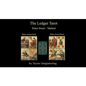 Ledger Major and Minor (2 decks and Online Instructions) Arcana Deck Poker Sized by Taylor Imagineering