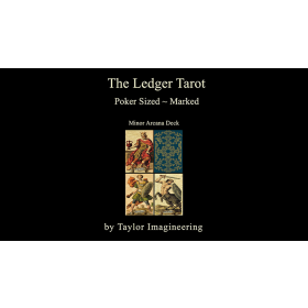 Ledger Minor Arcana Deck Poker Sized (1 Deck and Online Instructions) by Taylor Imagineering
