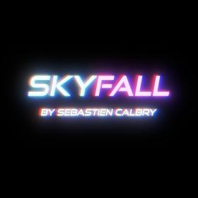 SKY FALL  BLUE  by Sebastien Calbry